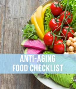 Anti aging food diet